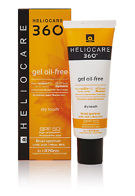 Heliocare 360 Gel Oil-Free SPF50+ Broad Spectrum Sunscreen Solar Protector