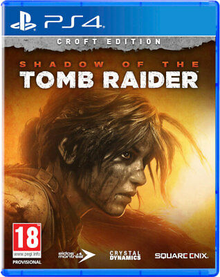 Shadow of the Tomb Raider Croft Edition + Steelbook  (PS4)