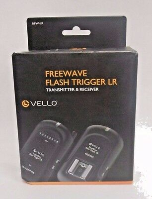 Vello FreeWave Wireless Flash Trigger LR and Receiver Kit D13