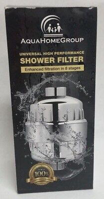 Aqua Home Group Universal High Performance Shower Filter 8 Stages Q3 D14