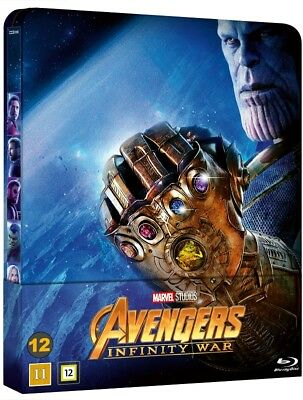 Avengers Infinity War Limited Steelbook Blu ray