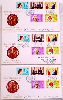 Guernsey First Day Covers X 3 addressed to Sark Lighthouse in 1984! Starts at £1