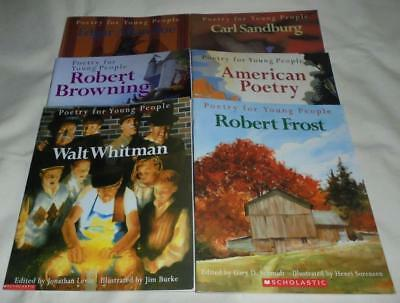 Set of 6 Poetry for Young People picture books