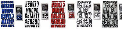 "Hardline ""320 Kit"" Boat Lettering Registration Watercraft Jetski - Choose Color"