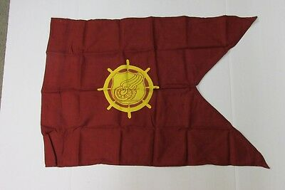 Genuine US Military Transportation Corps Guidon Flag Nylon and Wool Army NOS
