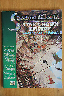ICE - Rolemaster Shadow World: Star Crown Empire and the Sea of Fates (1989)