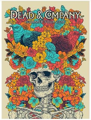 Dead and Company VIP Print Poster , Summer Tour 2018 - Signed & numbered