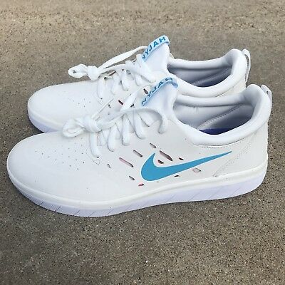 NIKE SB Nyjah Free Shoes Summit White Anthracite Mens 11.5
