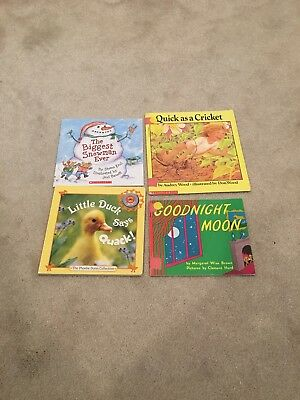Children's Storybook Collection Bedtime Stories Read Aloud Set, Goodnight Moon