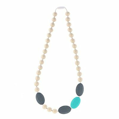 Kitdine Baby Teething Necklace Kelly for Mom and Baby-BPA Free and FDA Approved,