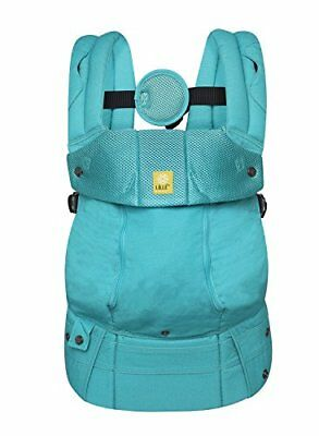 Lllbaby Complete All Seasons 6-in-1 Baby Carrier, Carribean Sea