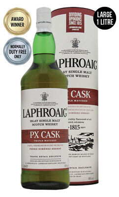 Laphroaig PX Cask Single Malt Scotch Whisky 1 Litre(Boxed)