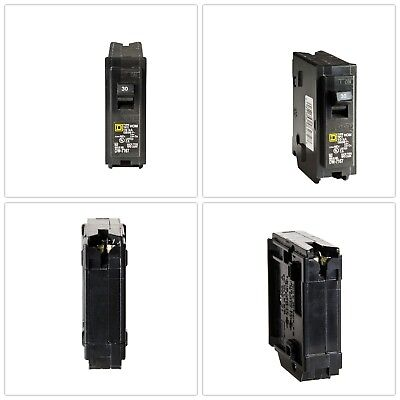 CIRCUIT BREAKER SINGLE-POLE Square D Homeline 30 Amp Standard Short Protection