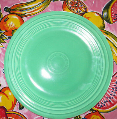 Vintage Homer Laughlin Fiestaware Dinner Plate Original Green 10.5""
