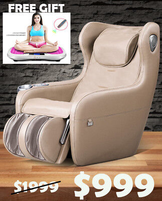 ENJOY Full Body Electric Relax Multi-Functional Massage Chair- Beige