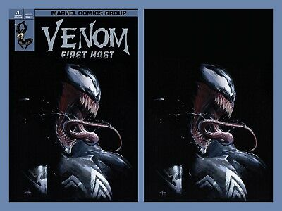 Venom First Host 1 Dellotto Virgin Variant Exclusive Set 1St Appearance Tel-Kar