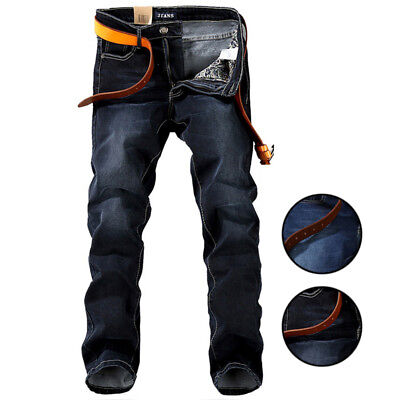 Mens Tapered Jeans Slim-Fit Relaxed Tapered-Leg Athletic Plus Size Denim Pants