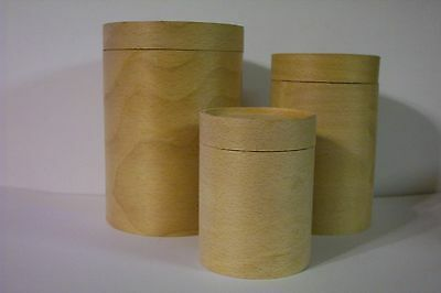 Shaker Style Nested Steamed Wood Cylinders with Lids 3 for Wonderful Storage