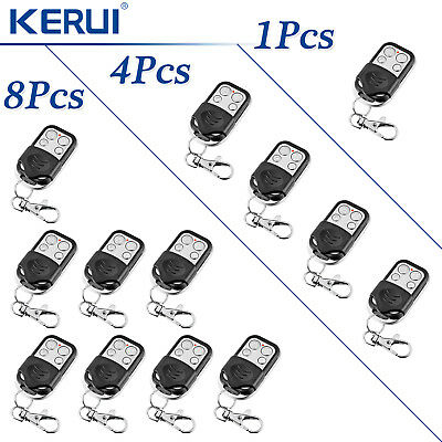 433MHz KERUI Wireless Metal Remote Controller Lot For Securtity Alarm System