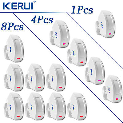 KERUI P817 Wireless PIR Motion Detector Curtain Sensor Lot for Home Alarm System
