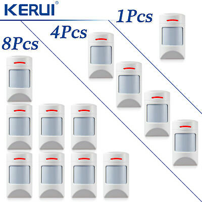 Wireless Pet-Immune PIR Detector Motion Sensor Lot for Securtity Alarm System