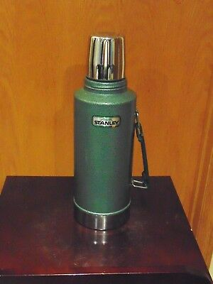 Vintage Aladdin Stanley Stainless Steel Thermos Half Gallon A945DH Made In USA