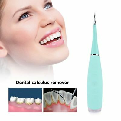 Ultrasound Dental Calculus Tartar Scraper Remove Tooth Stain Teeth Whitening USB