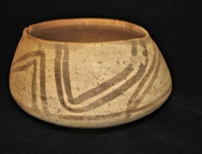 EBAY BEST!   ANCIENT PAINTED BOWL  AMAZING!  5000 years old! 3000BC~~~no reserve