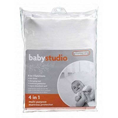 Baby Studio 4 in 1 Cot Mattress Protector