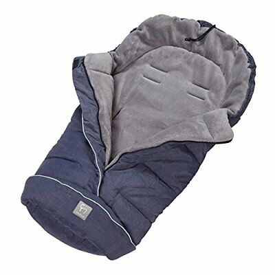 ClevaMama Universal Footmuff for Stroller Polyester, Navy