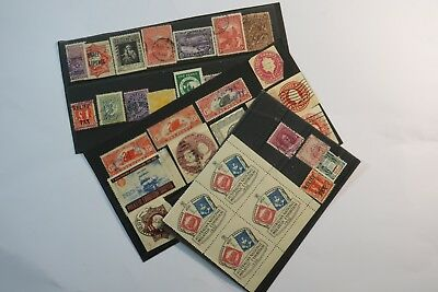 Unusual old unchecked stamp collection SNK919