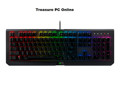 Razer BlackWidow X Chroma Gunmetal Mechanical Gaming Keyboard RZ03-01762100