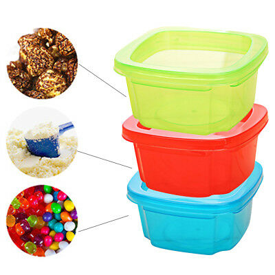 Baby Silicone Food Fresh Bag Reusable Seal Fridge Fruit Meat Storage Cup Hot