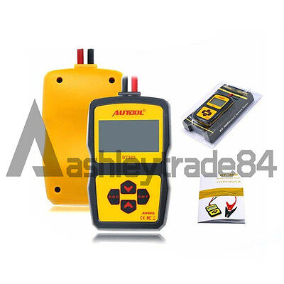 AUTOOL BT-360 12V Car Battery System Tester Acid Battery/Cranking/Charging Test