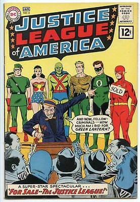 Justice League of America #8  VF 8.0