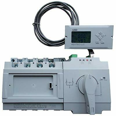 4PRO ATS-250A-4P-di Automatic Changeover Transfer Switch, 4 pole, 250A, 230/400V