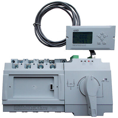 4PRO ATS-250A-4P-di Automatic Changeover Transfer Switch, 230/400V, 250A, 4 pole