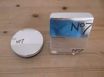 NO7 AQUA PERFECT cushion foundation 12ml CALICO