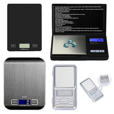 Digital Electronic Pocket Mini Weight LCD Gram Jewellery Scale 0.01g x 200g