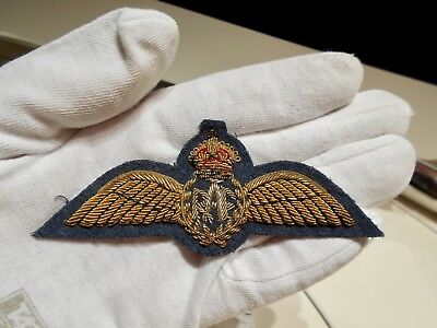 Authentic ~ WWII RAF ~ British Royal Air Force ~ Full Dress Pilot's Wings