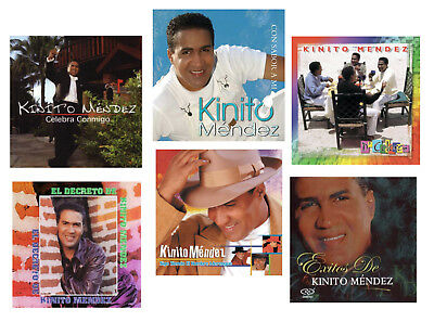 KINITO MENDEZ * Set of 6 Different CD's * 70 Songs * Sony Music *  New