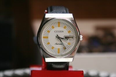 Citizen Automatic 1970er Vintage HAU mit neuem Band Japan