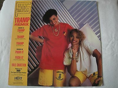 "Salt-N-Pepa Tramp Remix/ Push It  12"" Vinyl Single 1987 Next Plateau Records Ex"