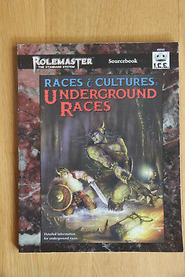 ICE - Rolemaster Races & Cultures: Underground Races (1996)