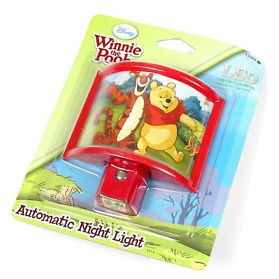 Disney Winnie the Pooh and Friends LED Automatic Night Light