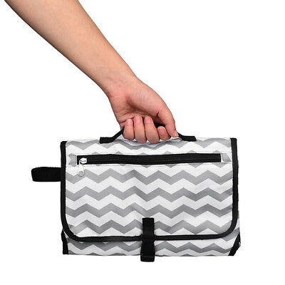 Portable Baby Waterproof Nappy Changing Diaper Storage Pad Mom Bag Mat Covers
