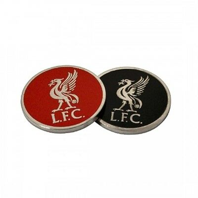 Liverpool Golf Ball Marker Crest Gift Fun New Official Licensed Football Product
