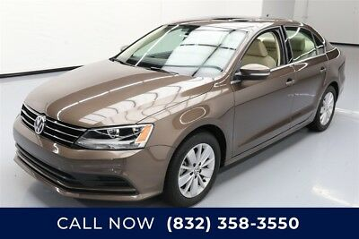 Volkswagen Jetta 1.8T SE w/Connectivity Texas Direct Auto 2015 1.8T SE w/Connectivity Used Turbo 1.8L I4 16V Automatic