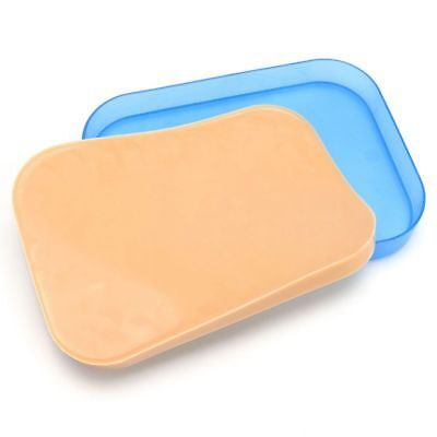 2X(Medical Surgical Incision Silicone Suture Training Pad Practice Human S Z5C9)