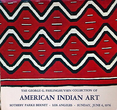 Sotheby's George Frelinghuysen Coll. American Indian Art 6/6/1976 Hj1